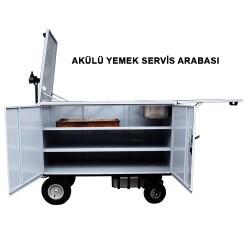 S-33 AKÜLÜ YEMEK SERVİS ARABASI