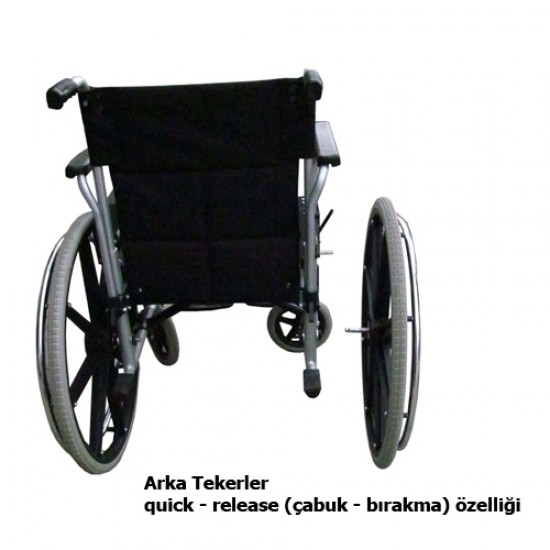S-44 MANUEL TEKERLEKLİ SANDALYE