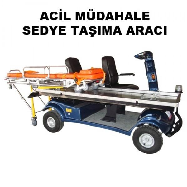 S-20 SGMS ACİL MÜDAHALE SEDYE TAŞIMA ARACI