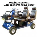 S-23 AMELİYAT SONRASI HASTA TRANSFER SEDYE ARACI
