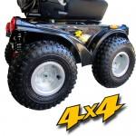 S-05 APEGO / A 4X4 - AKÜLÜ TEKERLEKLİ SANDALYE